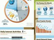 infographie internet usages quels sont internautes ligne