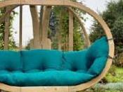 confort d'un fauteuil…suspendu