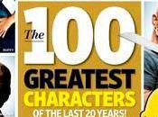 meilleurs personnages dernières années