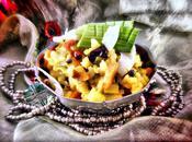 """Risotto simplifié """"curry légumes"""" lait coco (vegan, sans oeuf gluten)"""
