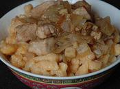 Porc l'asiatique spätzle orangés