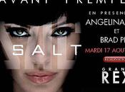 Salt Avant première Paris présence Angelina Jolie Brad Pitt