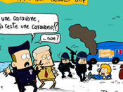 Caravane jeunes UMP, plages, vacances, propagande tous chemins mènent Roms