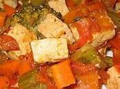 Ratatouille tofu
