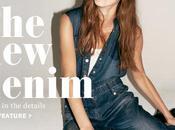 Tendance l'automne jean vintage revers