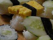 Prélude tokyoïte sushis sans poisson