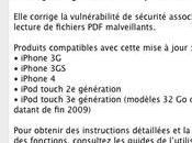 Apple ligne 4.0.2 pour contrer JailbreakMe