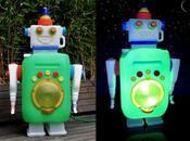 Zebulon, petit robot lumineux base récup