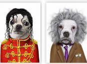 Lorsque personnages célèbres visages d'animaux (photos)
