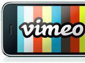 vidéos Vimeo compatible avec l'iPhone...