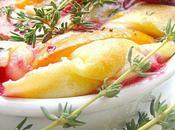 Gratin Fruits d'Eté l'Huile d'Olive Thym