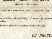L'enterrement Vincent Gogh Auvers-sur-Oise