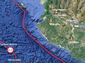 Magnitude 6.1, Jalisco, Mexique, Aout 2010.