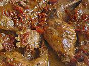 Lapin roti dans sauce Barbecue
