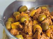 Tajine poulet olives citrons confits