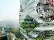 projet tour durable pour ville Shenzhen
