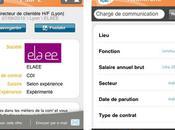 Elaee teste l'application iPhone l'APEC