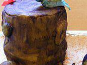 Gâteau thème forêt