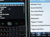 Infographie: Blackberry/iPhone, combat