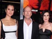 Photos Bruce Willis potes d'Hollywood défilent pour nouveau film