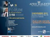 Forum AfricTalents. Nov.