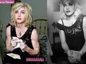 Madonna, Dolce Gabbana Photoshop