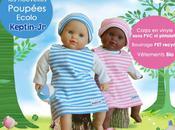 Nouvelle collection doudous poupées écolo