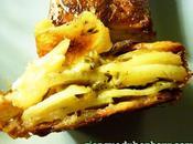 Terrine pommes terre reblochon, oignons herbes accompagnement, bien gourmand