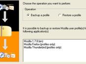 MozBackup, utilitaire gratuit sauvegarde restauration profils Mozilla (firefox, thunderbird…)