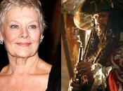 Pirates Caraïbes Fontaine Jouvence: Judi Dench Keith Richards casting
