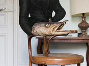 George Sand barracuda. L'artiste Elena Esdin est...
