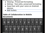 Modifiez documents Google Documents votre iPhone Android