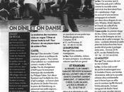 Restaurant Alcazar presse parle…ELLE Magazine