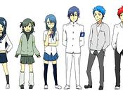 réseaux sociaux étaient personnage MANGA.... redes sociales fueran personaje manga...