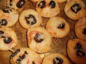 Mini-muffins façon pizza
