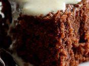 Gâteau choc'amande crème anglaise végétale (sans gluten)