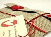 Pochette cadeau pour déclaration d'Amour