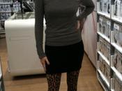 J'ai testé collants léopard comme Kylie Minogue...