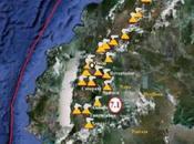 Activité volcanique Équateur stratovolcan Tunguruhua. Risque d'éruption paroxismale.