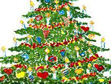 Recyclage sapins