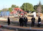 Boulodrome couvert Lupino reçu visite hier élus Municipalité