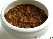 Plat soupe lentilles cumin paprika