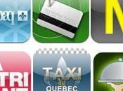 Nouvelles applications iPhone