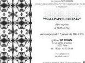 "Exposition ""Wallpaper Cinéma"" Galerie Down"