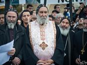 Manifestation soutien Coptes Notre-Dame, Paris.