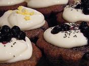 Cupcakes myrtilles-pavot