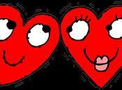 Vénus l'amoureuse, vous envoie baisers enflammés