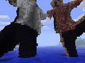 Kinect utilisé avec Minecraft