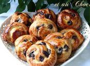 Petits pains raisins pépites chocolat faciles faire