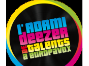 Adami Deezer talents EuropaVox
